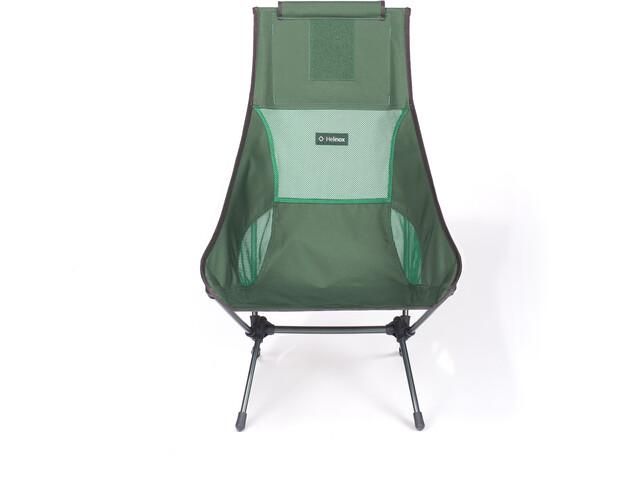 Helinox Chair Two, forest green/steel grey
